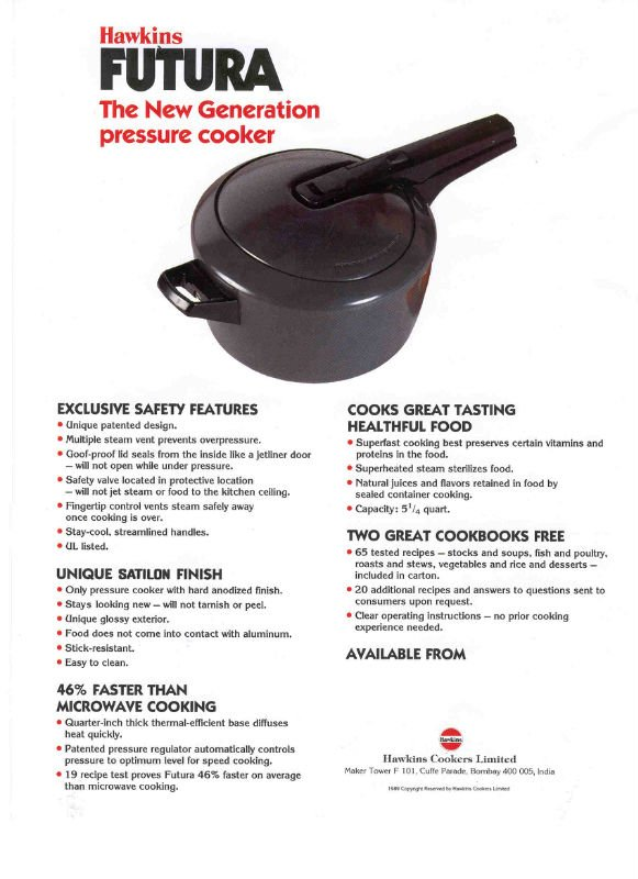 Hawkins And Futura Pressure Cookers Buy Pressure Cookers