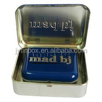 indian favor boxes small metal containers square tin box soap tin can