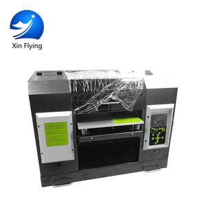 UV Metal Photo Printer 4 color printing socks printing machine price/printing machine digital
