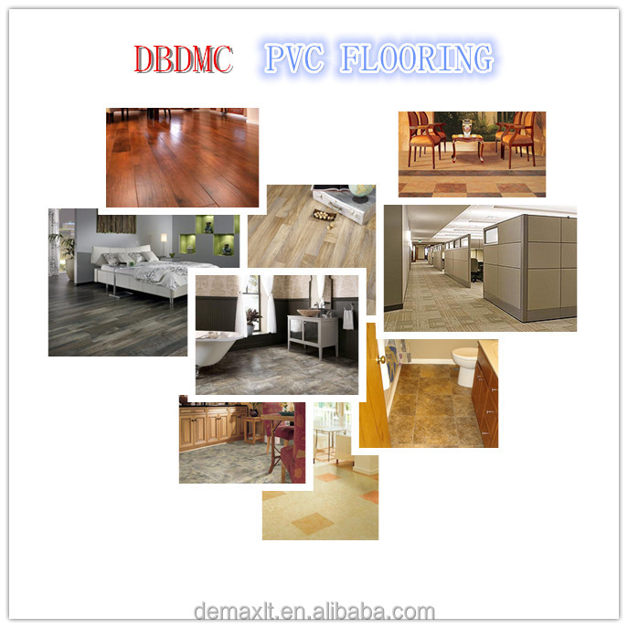 Dbdmc Plastic Flooring Type And Pvc Material Carpet/stone/wood ...
