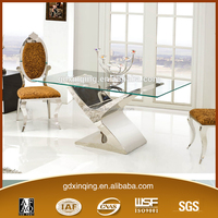TH316 Room Table Furniture Kitchen Tables Rectangular Glass Dining Table