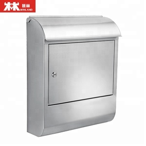 Wall Mount Large Size Steel Mailbox Maximum Size of Parcel: 340*110*250mm