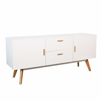 New Model Home Furniture Wooden Sideboard  MDF Side Table Drawers Cabinet