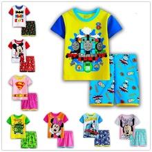 Baby girls Summer Kids Boys T Shirt Shorts Set Children Outfit Short Sleeve Shirt Clothing Set
