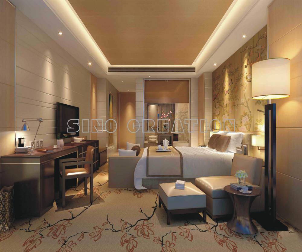 Création vente chaude 5 étoiles luxe moderne chambre meubles Set ...
