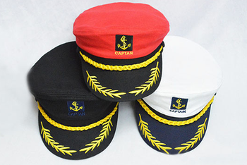 Wholesale Best Sale Fashion New Style High Quality Embroidery Logo Custom  Sailor Cap/hat Made In China - Buy Sailor Cap,Captain Sailor Cap,Custom