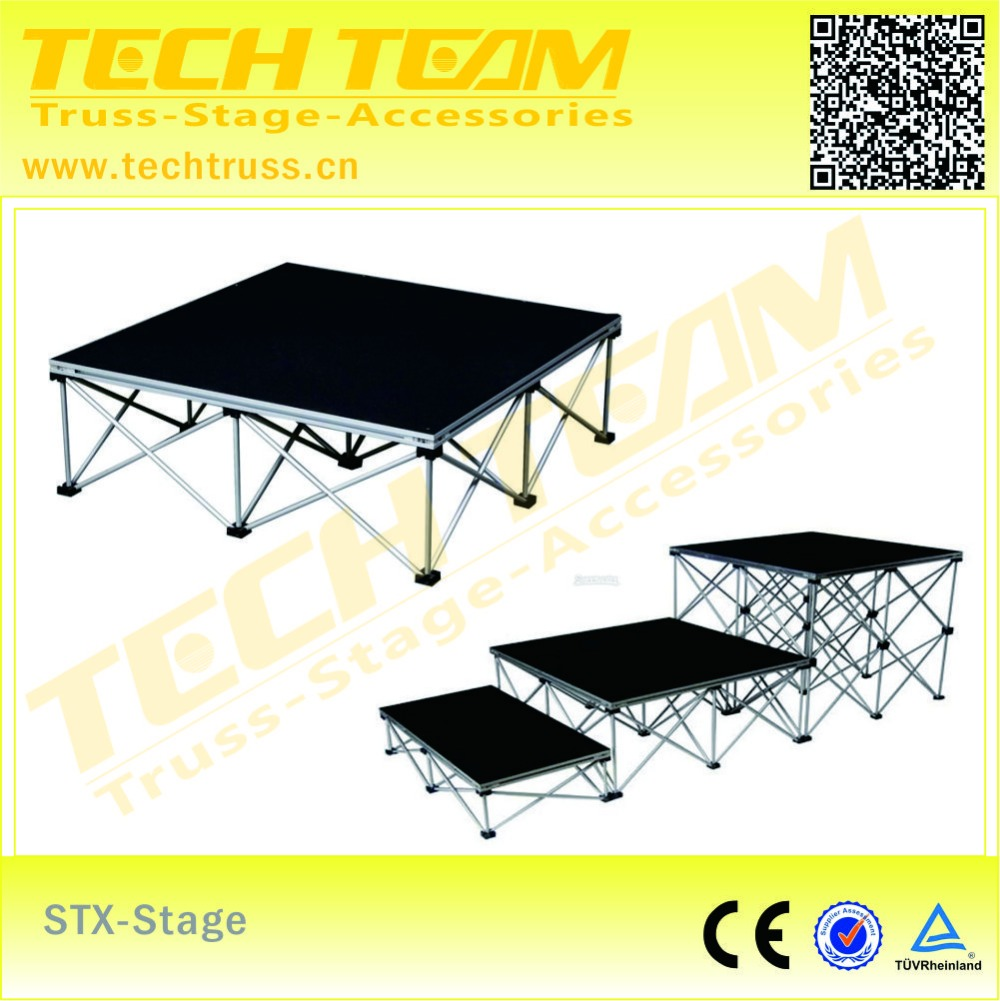 portable stage for event use easy assemble,competitive portable stage of platform