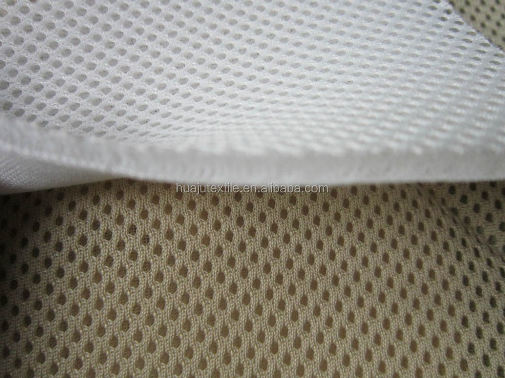 2015 Popular House Decoration Designs Fabric One-Way Transparent Polyester 3D Mesh Fabric