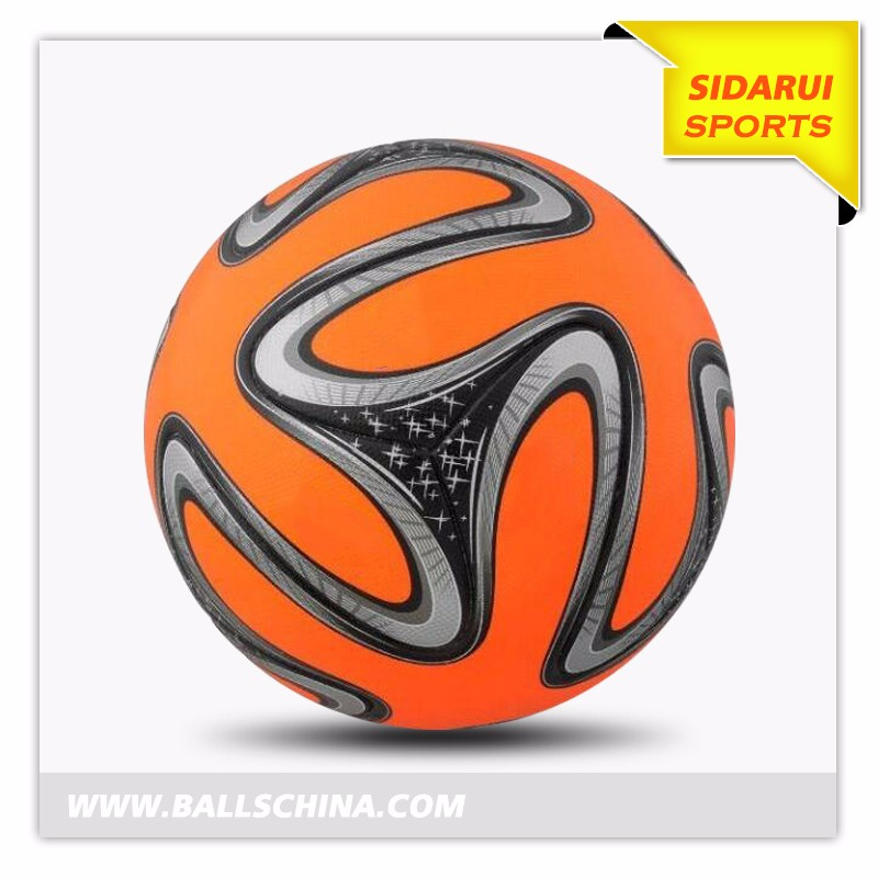 2017 new style Brazil World Cup PU tpu cheap soccer ball football