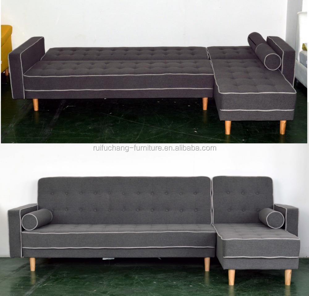 Cheap modern living room luxury relax elegant l shape folding sofa cum bed home furniture adjustable sectional corner sofa