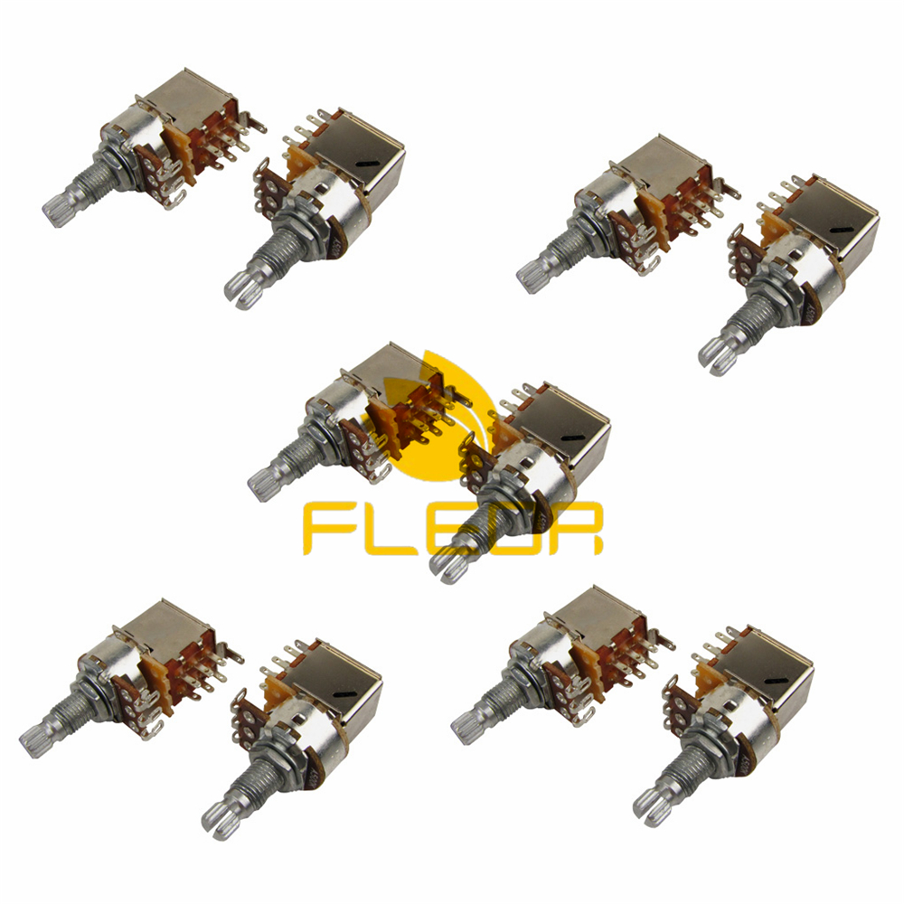 Bass Guitar Parts Volume : new 10pcs a500k push pull pots electric bass guitar volume pots audio volume switch ~ Vivirlamusica.com Haus und Dekorationen