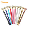 2018 hot sale metal ballpoint pens for high quality promotional beautiful big diamond pen as best gift