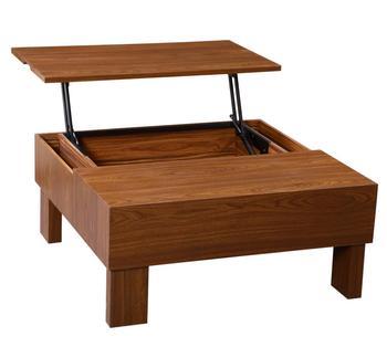 2018 New Writing Coffee Table Lift Mdf Wood Modern Tea Wooden