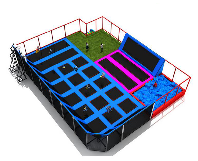 Factory Direct Sale large Indoor Trampoline, Trampoline Park for Sale