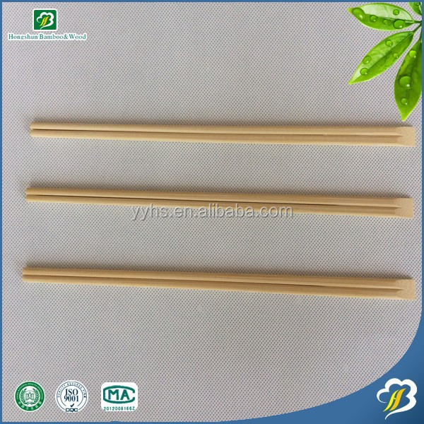 Wholesale one hundred percent pure and natural Disposable Bamboo Chopsticks for sushi