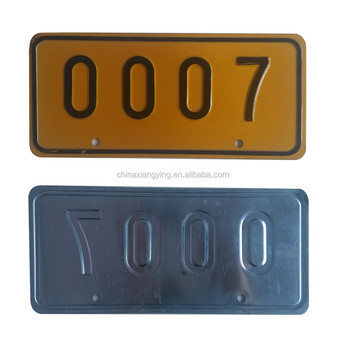 rectangle reflective car plate with yellow color made in china  sc 1 st  Alibaba & Rectangle Reflective Car Plate With Yellow Color Made In China - Buy ...
