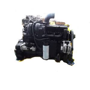 128kw 6 cylinders cummins 6CTA8.3-C175 diesel engine used for construction