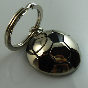 Manufacturer Cheap Wholesale Metal Keychain Helmet for Promotional