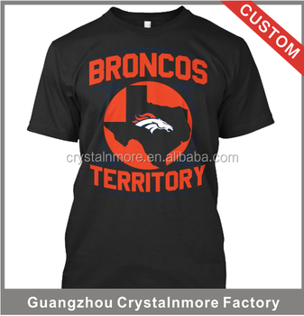 Custom Printing T Shirts Broncos High Quality Clothes