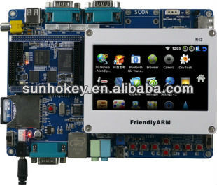 "Tiny6410 + 4.3"" Touch Screen 533 MHz S3C6410 256M Memory + 2G Nand Flash Android2.3 ARM11 Learning Development Board"
