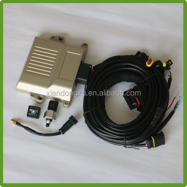 Natural gas ecu cng injection system with Map sensor, switch, injector rail price