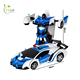 High quality rc car transform robot toy car control remote toy for children