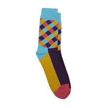 5 пара/лот, хлопковые мужские носки, деловые Компрессионные носки, новинка, забавные Цветные Носки Happy Dress, мужские носки, размер 39-45(Китай)
