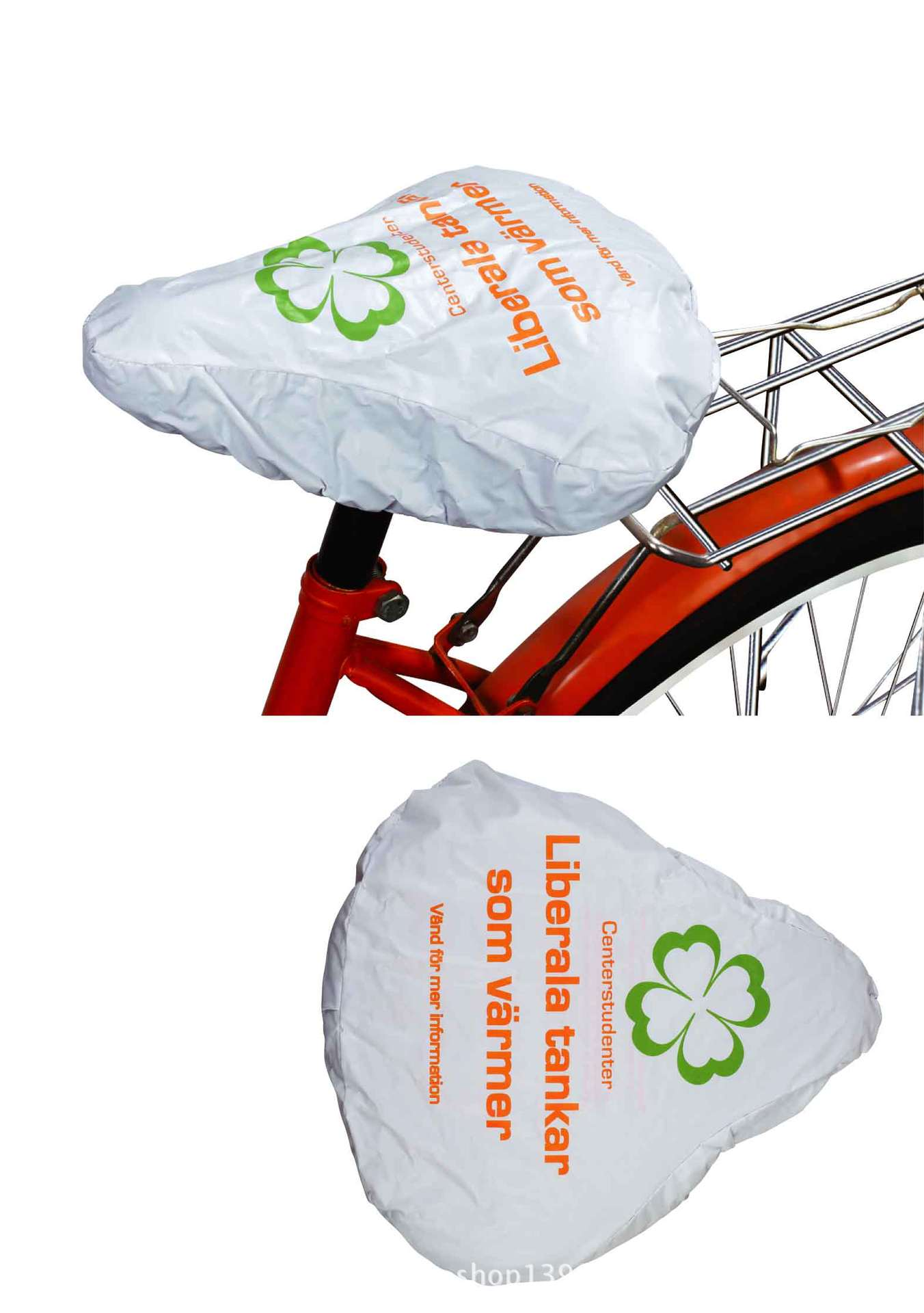 OEM High Quality  All Over Print Waterproof Bicycle Seat Cover