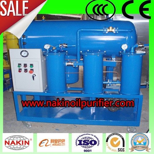TJ Low Cost Gasoline Oil Purify/Dewater/Degas Completely Set