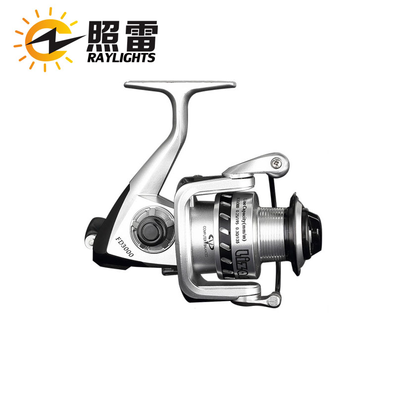 FD 12+1 5.2:1 Low Profile Baitcasting Reel Bait Casting Lightweight Fishing Reel