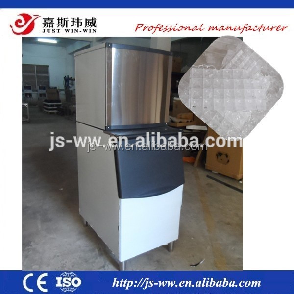 LOW working noise containerized ice block maker machine for sale