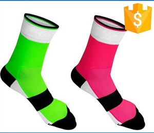 Custom cycling socks , sports compress coolmax cycling socks,OEM orders