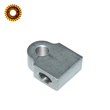 Custom milling metal central machinery parts/machining steel block
