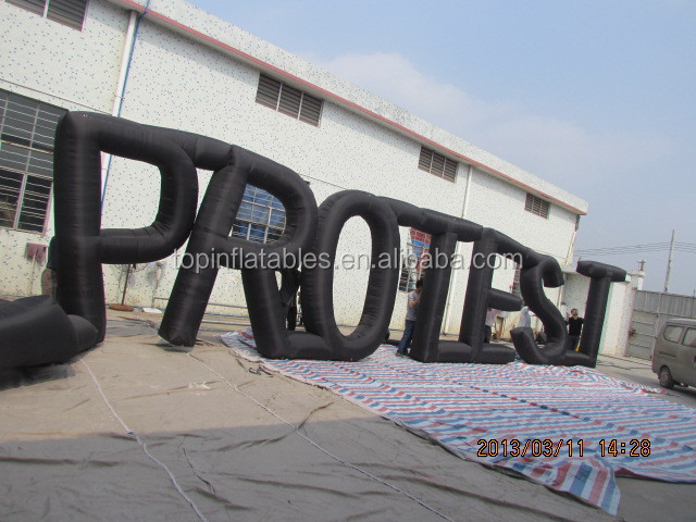 new giant decorative inflatable letters for outdoor usefestival promotion inflatable words inflatable letter