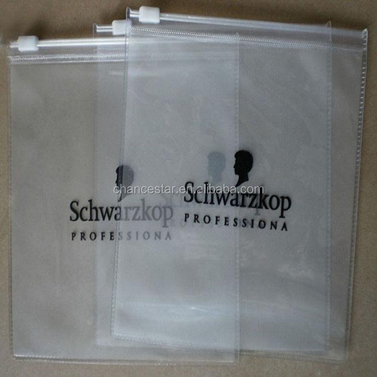 A4 Plastic Zip Lock Folder Bag With Header & Insert Cards
