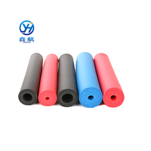 High Quality Rubber Plastic Foam Pipe Heat Insulation Isolation Tube For Air Conditioner