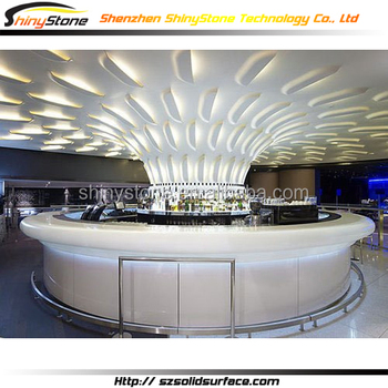 Amazing Luxury Lighting Decorated Design Solid Surface
