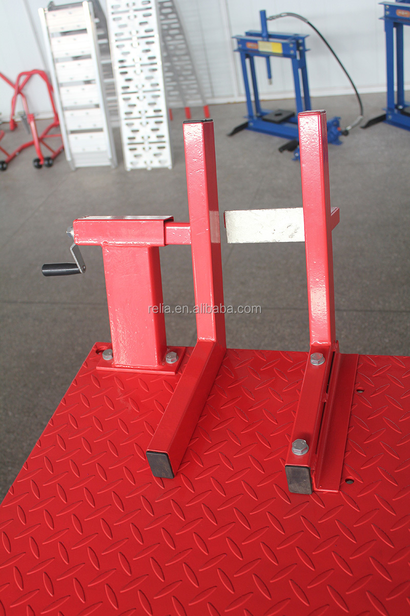 1000 Lbs Air Hydraulic Motorcycle Scissor Lift Table With