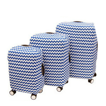 custom spandex elastic travel luggage cover suitcase cover