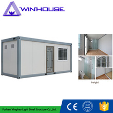 Sandwich Panel Single Storey Housing Movable Prefab Container Unit