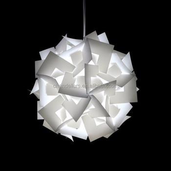 Iq Jigsaw Puzzle Lamp Infinity Lights Ceiling Light Red Bud Shape
