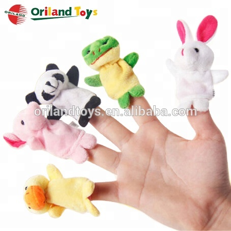 custom making mini animal trump plush finger puppets