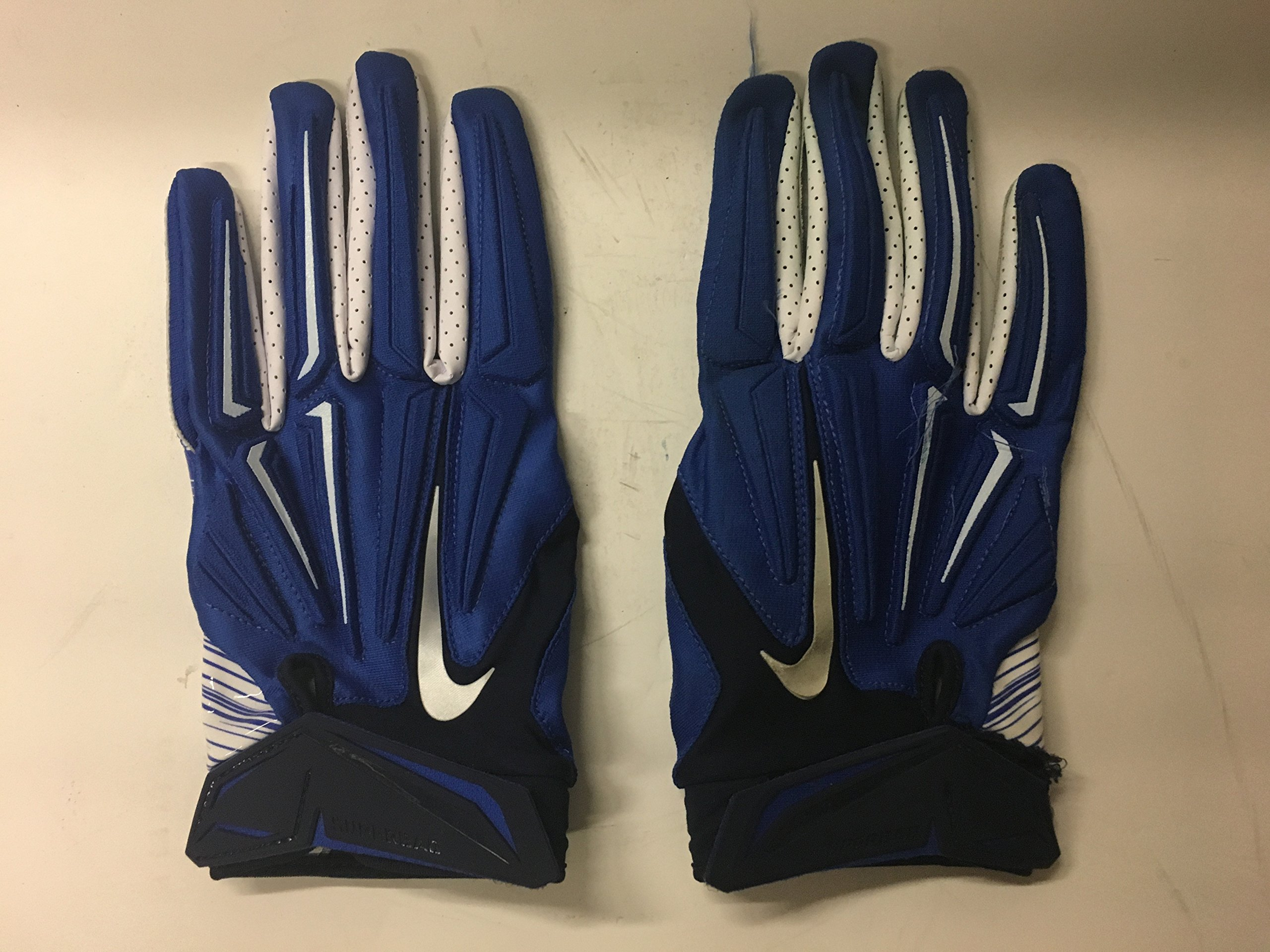 wholesale dealer 7feee 35362 Get Quotations · Jeremy Mincey  92 Game Used Nike Superbad 4XL Dallas  Cowboys Magnigrip Blue White Football