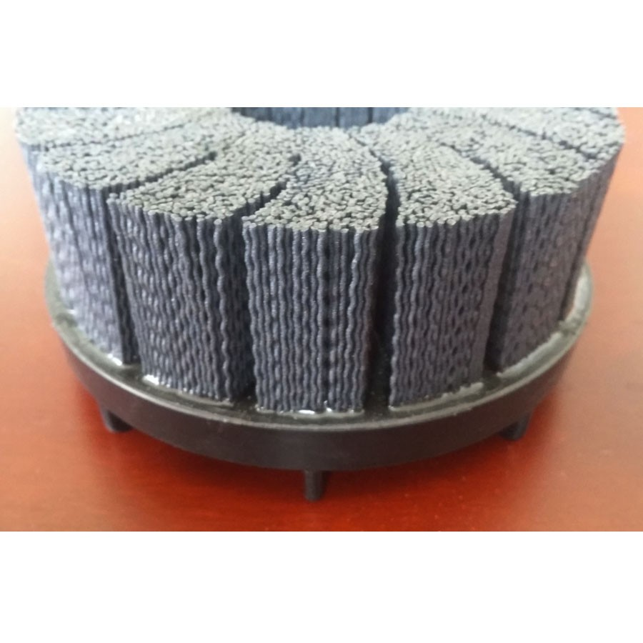 Good polishing effect steel wire brush/grinding abrasive brush for sale