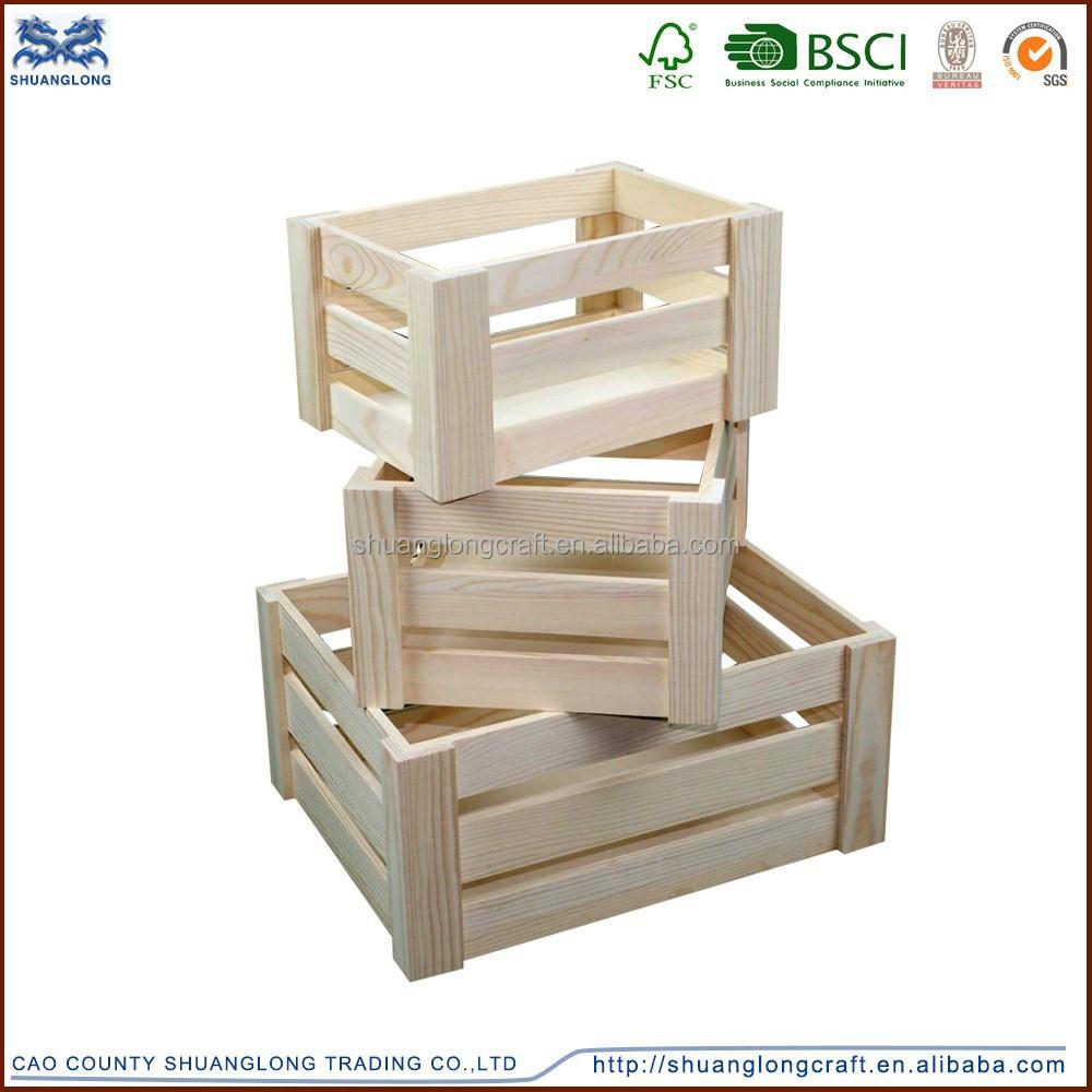 R stico vintage barato hecho a mano cajas de madera de - Cajas madera baratas ...