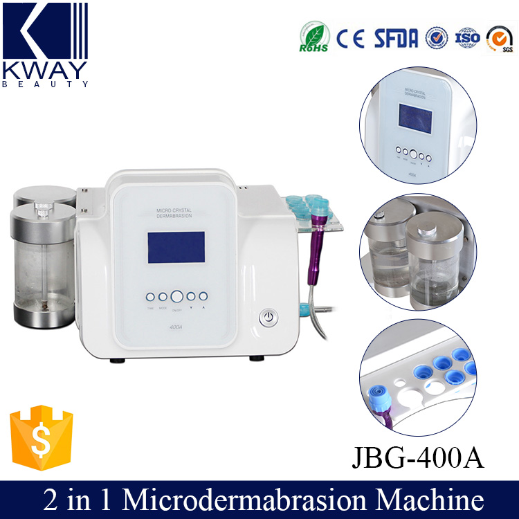 2 in 1 Diamond micro-crystal dermabrasion hydro water oxygen skin lift machine.