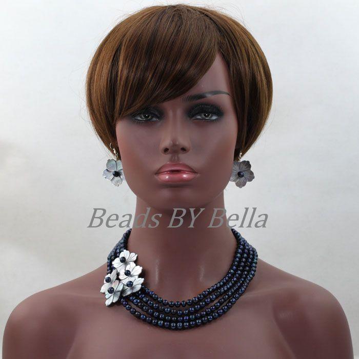 Black Pearl Costume Jewelry 69
