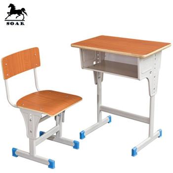 Beliebten Schulmöbel Holz Schule Schreibtisch Und Stuhl Set Für