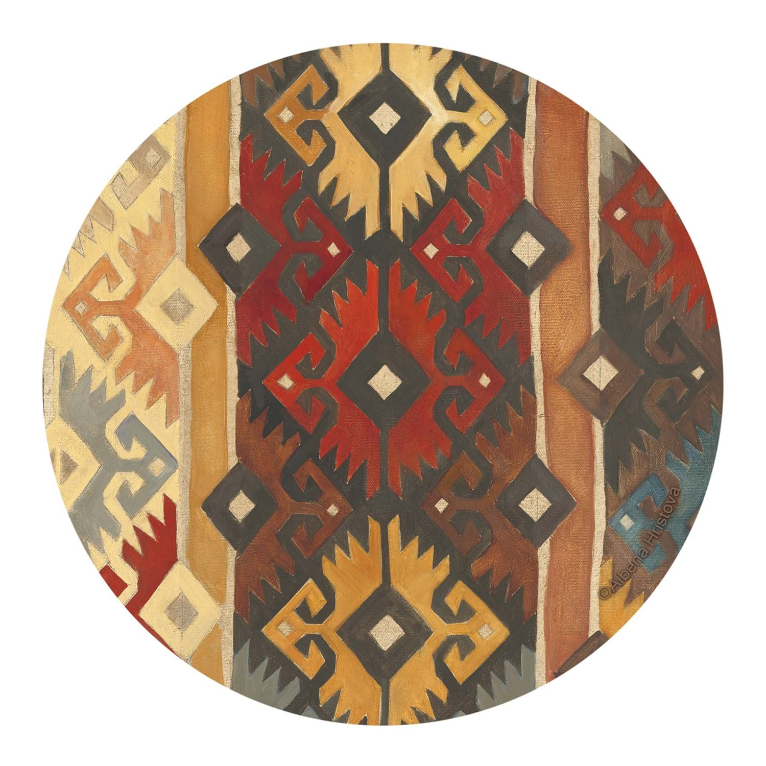 Thirstystone Drink Coaster Set, Southwest Pattern I