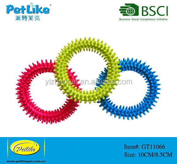 dog rubber ring dog toy pet product manufacturer